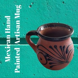 • Mexican Hand Pained Artisan Mug •